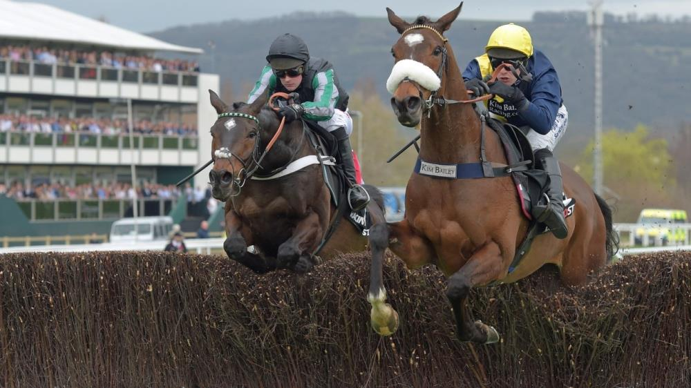 The if only day.. Jumping the second last in the Arkle Chase at Cheltenham with Altior just in behind..