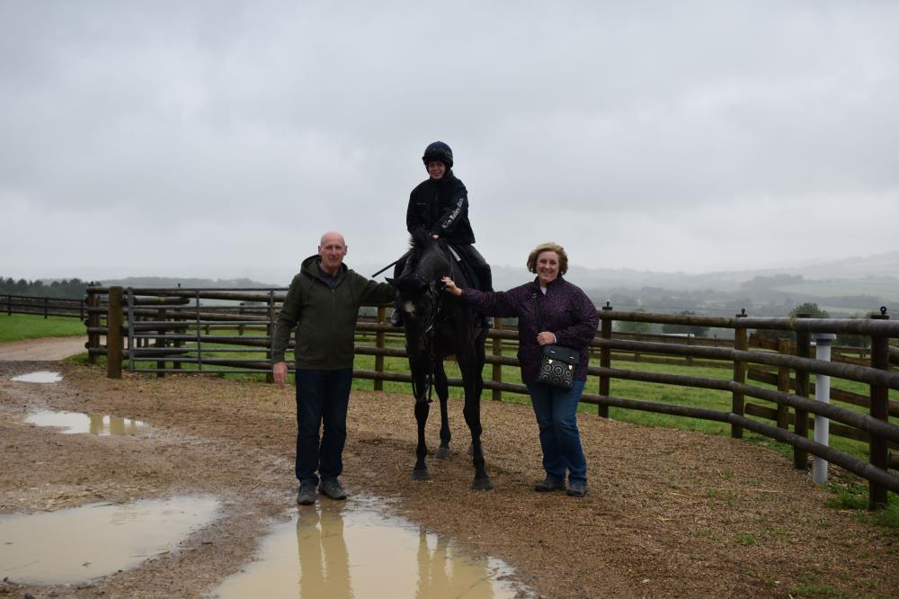 Paul & Eileen with Galante de Romay