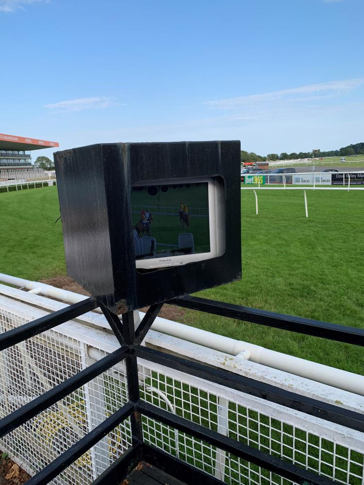 The owners view at Uttoxeter