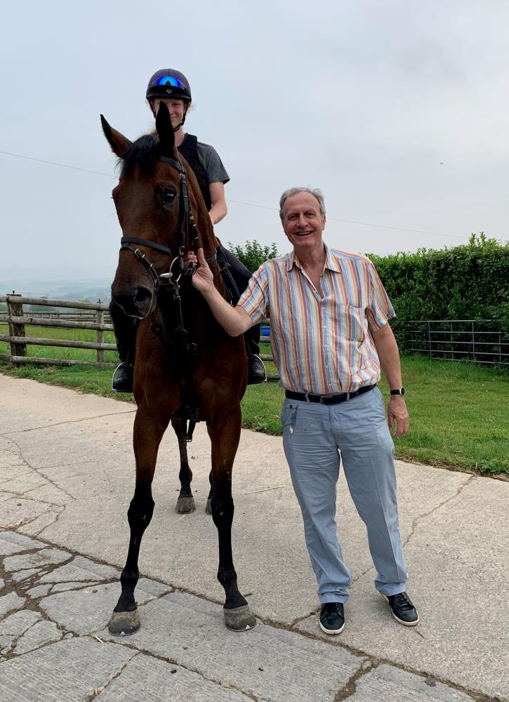 Phil Case with his KBRP horse Hendra House
