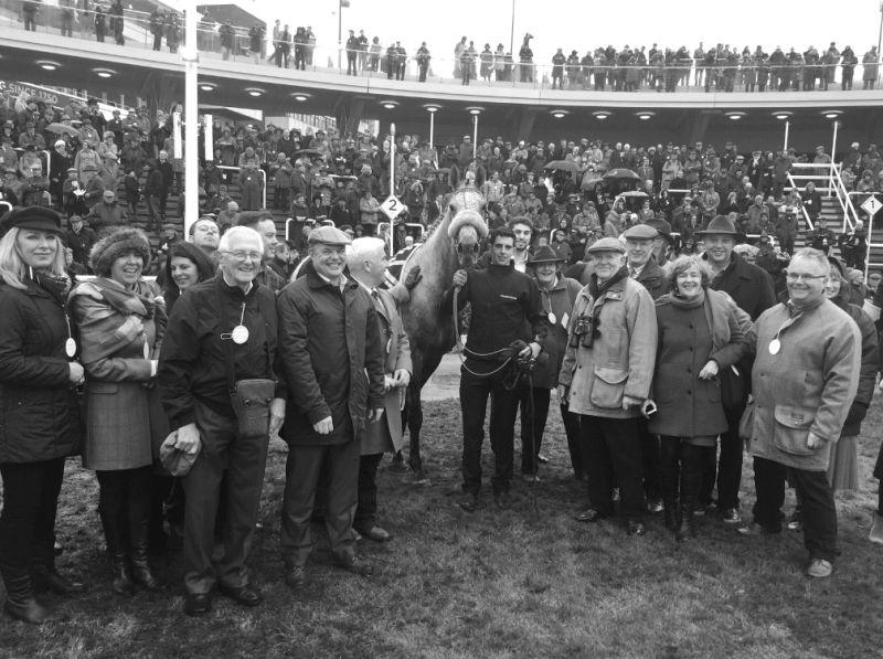 Very happy owners of Knockanrawley after finishing 3rd on Saturday