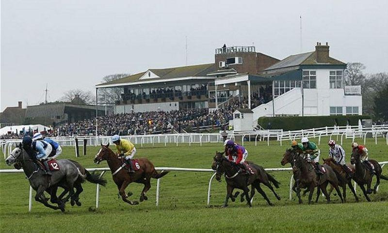Hereford racecourse.. this is what it used to look like.. back racing here in October.