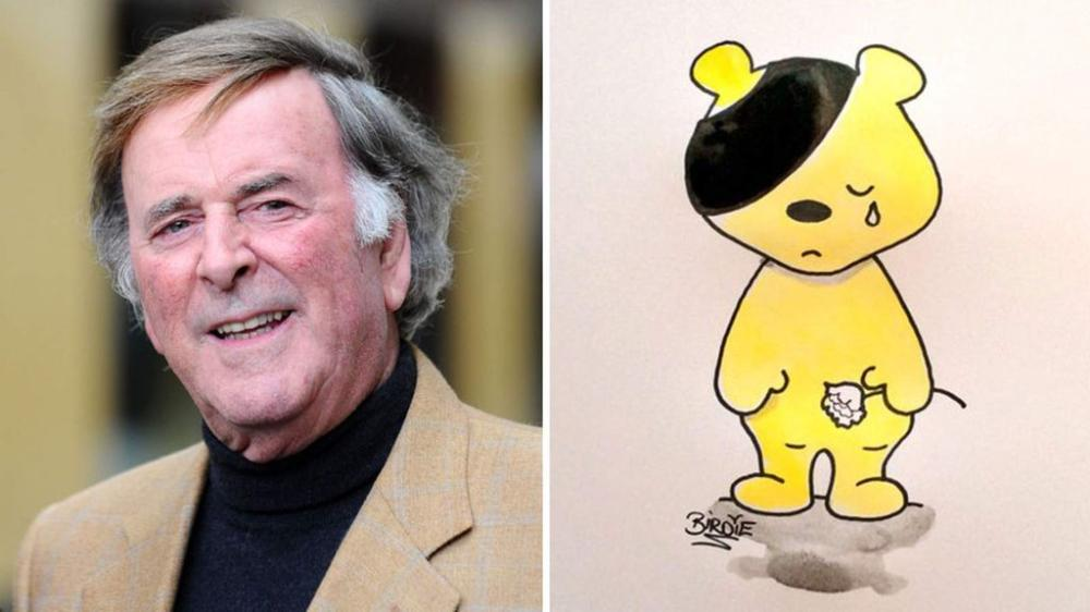 Sir Terry Wogan and Darren Birdies own tribute