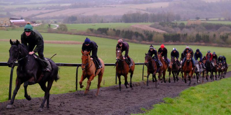Kalanisi Glen leading the rest of the string