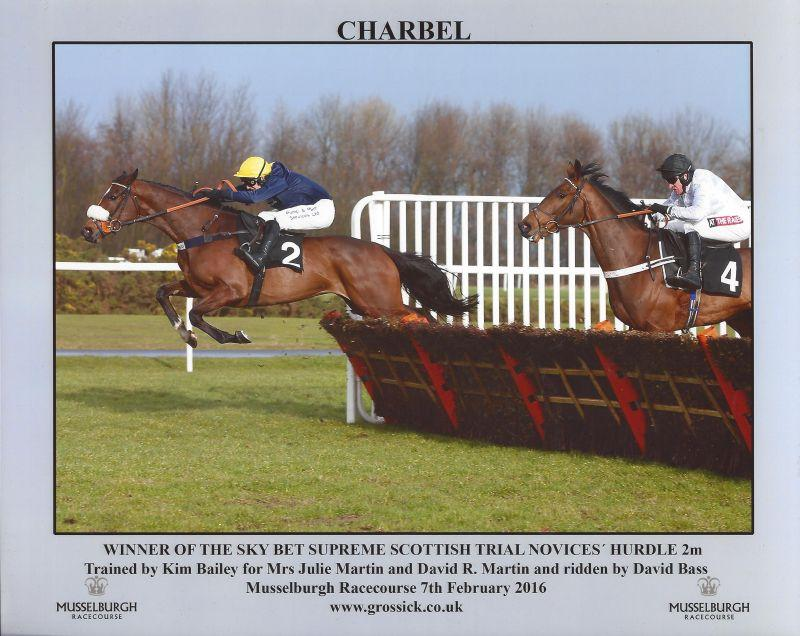 Charbel jumping the last