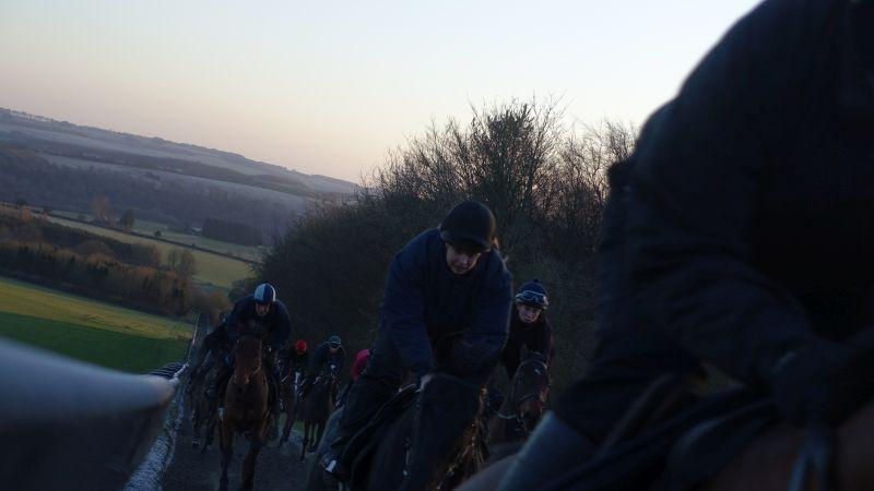 Cantering first lot