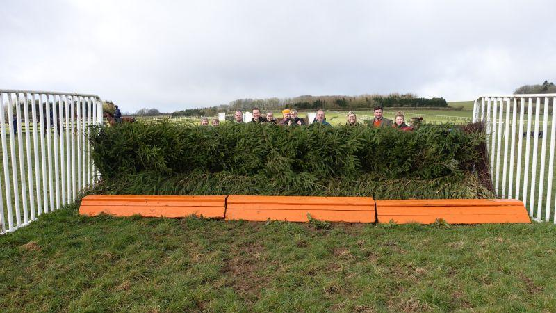 Higgs Aintree Grand National fence