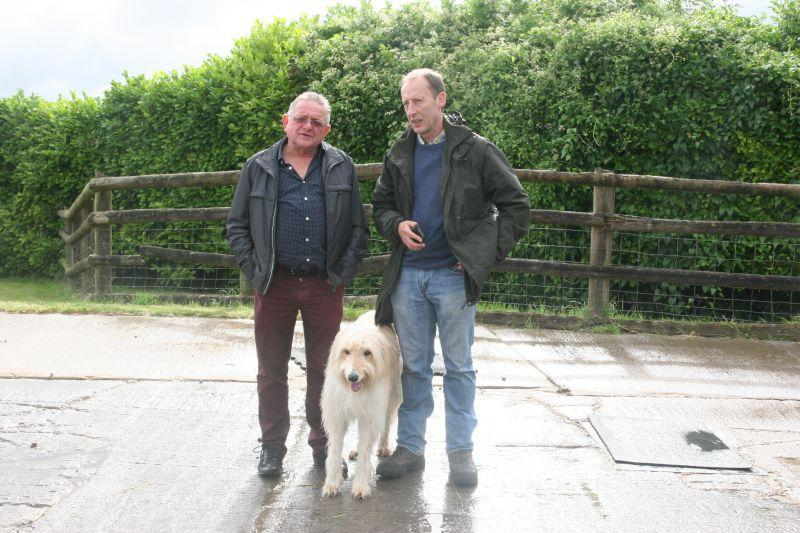 Michael Wilkes, Bear and Peter this morning