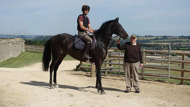 Len Harvey with his KBRP horse Chateau Robin