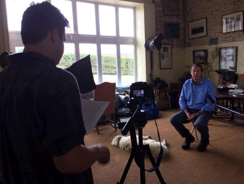 Interview for The Cotswold film Company..