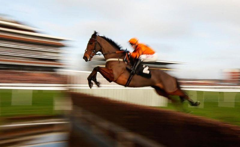 The speedy Thistlecrack flies over the water.. Will he be flying up the Cheltenham hill to claim this years Timico Gold Cup.