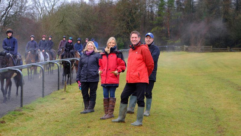 This mornings team from CD Tours.. Elaine, Shelley, Chris and David.