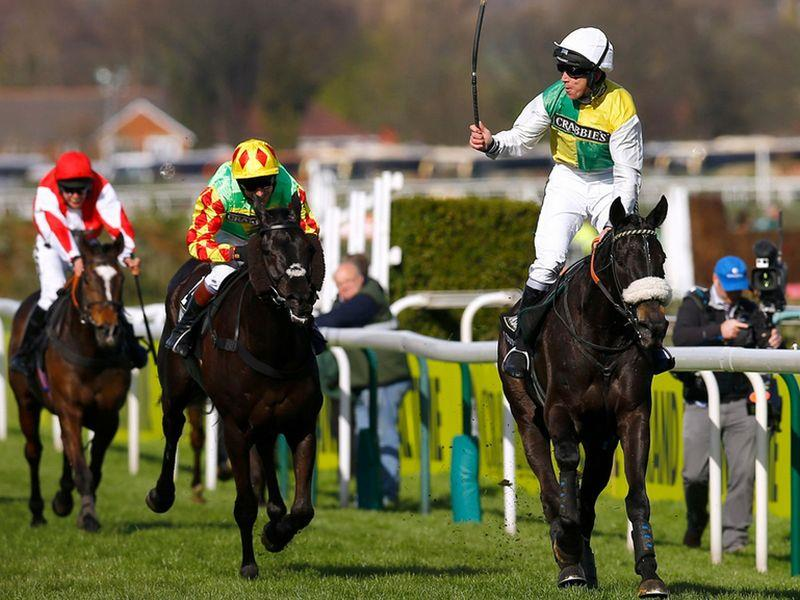 Many Clouds winning the Grand National